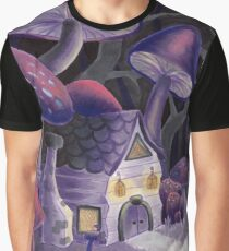Mushroom Wonderland Graphic T-Shirt