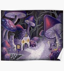 Mushroom Wonderland Poster
