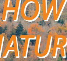 Crazy Nature - 5 Sticker