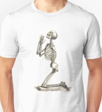 Skeleton Prayer Unisex T-Shirt
