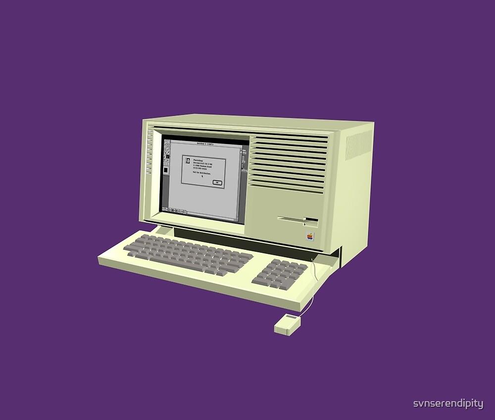 LISA Macintosh XL by svnserendipity
