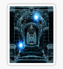 Abstract Gothic Architecture Sticker