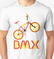 BMX (Red & Yellow) T-Shirt