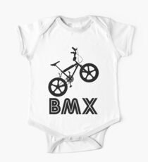 BMX Silhouette (Black) One Piece - Short Sleeve