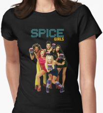 spice girl Womens Fitted T-Shirt