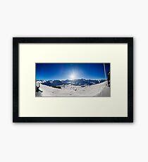 Val-D'Isere, Rhone-Alpes, France Framed Print