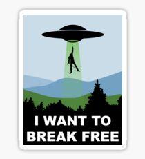 I Want to Break Free - Freddie Returns to Mercury Sticker