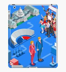 USA Political Elections Infographic iPad Case/Skin