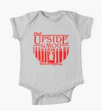 Visit Upside Down One Piece - Short Sleeve