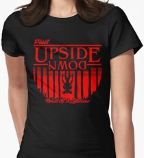 Visit Upside Down Women's Fitted T-Shirt