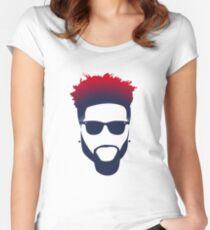 Odell Beckham Jr - New York Giants Women's Fitted Scoop T-Shirt