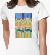 Sacral Architecture Womens Fitted T-Shirt