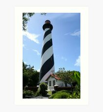 St. Augustine Lighthouse ~ 1874 Art Print