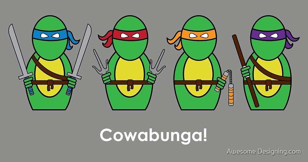 Teenage Mutant Ninja Turtles by Awesome Designing.com