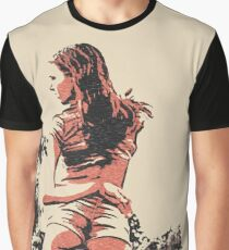"""Kinky posing and """"Dat ass"""", sexy girl in hot pose Graphic T-Shirt"""