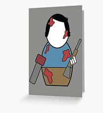 Evil Dead (without quote) Greeting Card