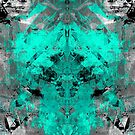 abstract teal/grey by filippobassano