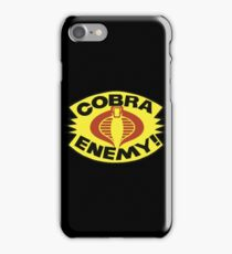 G.I. JOE BLISTER -  COBRA ENEMY! iPhone Case/Skin