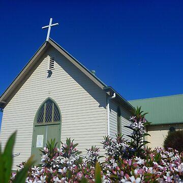 Spring Church by HauntedHills