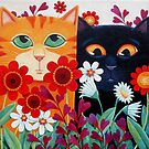 Emilys' Cats by vickymount
