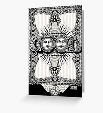 Elegant and COOL Greeting Card