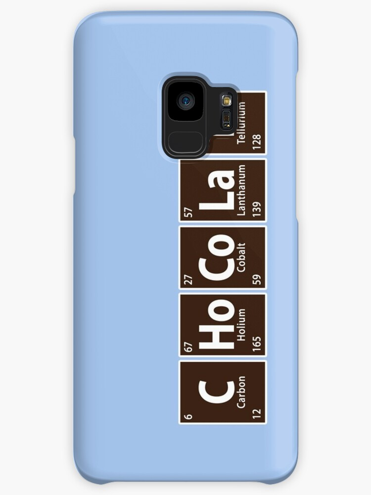 Chote chocolate spelled with periodic table cases skins te chocolate spelled with periodic table urtaz Image collections
