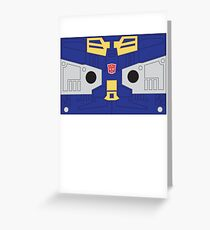 Eject - Transformers 80s Greeting Card
