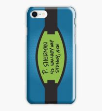 P. Sherman iPhone Case/Skin