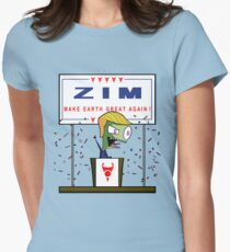 Zim - Make Earth Great Again! Women's Fitted T-Shirt