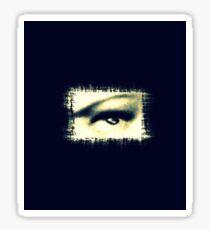 Distorted vision  Sticker