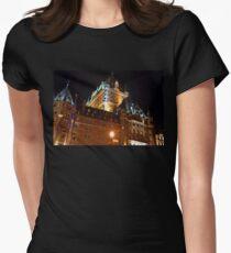 Fairmont Chateau Frontenac - Quebec 2008 Women's Fitted T-Shirt