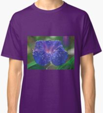 Deep Purple Morning Glory With Morning Dew Classic T-Shirt