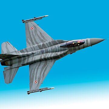 Lockheed Martin F-16 Poland by criso