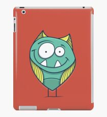 Zigouille, le monstre sympathique iPad Case/Skin