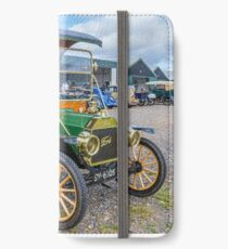 1912 Model T Ford Pie Wagon SV6505 iPhone Wallet