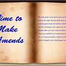 Time to Make Amends (Image) by TonyCrehan