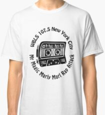 Marly Marl Rap Attack Old School Hip Hop  Classic T-Shirt