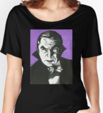 Dracula Classic Gothic Horror Women's Relaxed Fit T-Shirt
