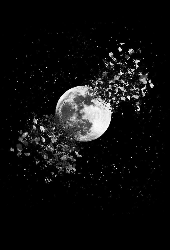 Moon Explosion by 24julien