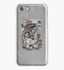 Traditional Nekobasu Variant iPhone Case/Skin