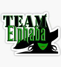 Team Elphaba Sticker