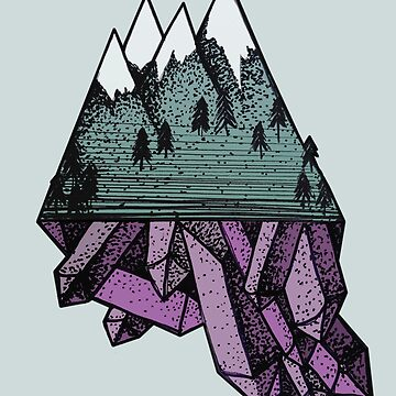 Crystal Mountains by zombalex