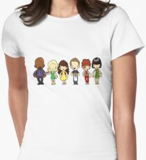 Young Ned did not think of her as being born or hatched or conceived in any way. Chuck came ready-made from the Play-Doh Fun Factory of life. Womens Fitted T-Shirt