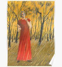 im roten Kleid Poster
