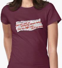"Gilmore Girls ""Lorescope"" Women's Fitted T-Shirt"