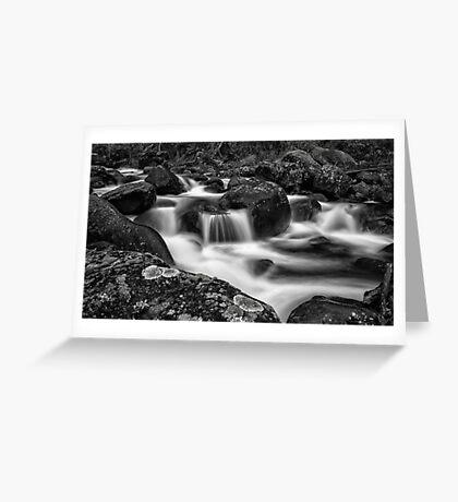 Aqua Mystic  Greeting Card