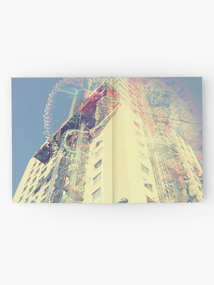 Vista alternativa de Cuaderno de tapa dura rascacielos