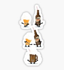 Character Fusion - Root Beer Float Sticker