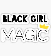 Pegatina Magia negra de la muchacha