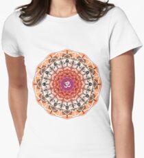 ORANGE OM MANDALA T-Shirt